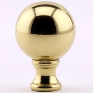 Polished Brass Sphere, three sizes