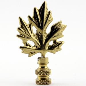 Polished Brass Maple Leaf
