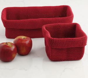 DII Red Baskets
