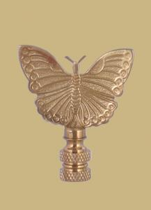 Polished Brass Butterfly
