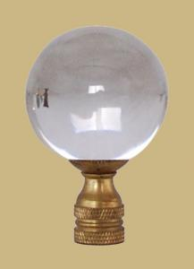 Ball with Brass Base